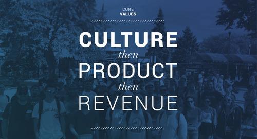Culture, then Product, then Revenue