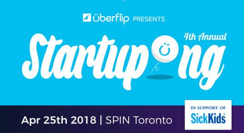 Startupong is back! April 25th!