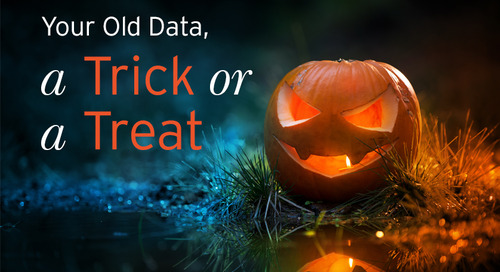 Your Old Data, A Trick or A Treat