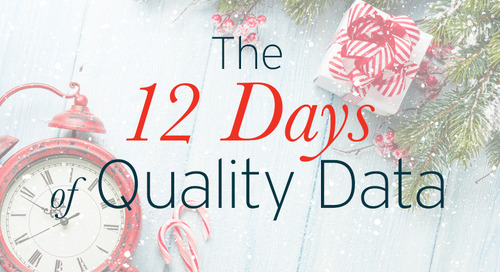 12 Days of Quality Data