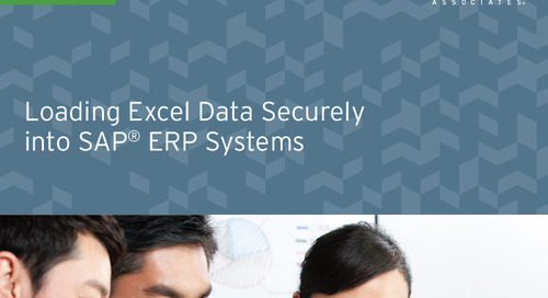 Loading Excel Data Securely into SAP Systems