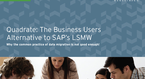 A Business Users Alternative to SAP LSMW