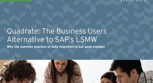 A Business Users Alternative to SAP LSMW