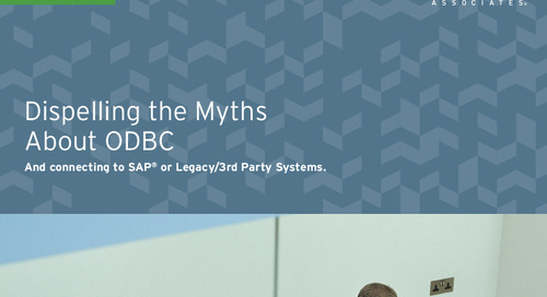 Dispelling the Myths About ODBC