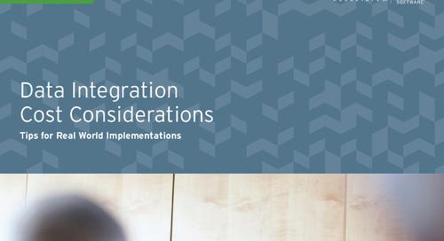 Data Integration Cost Considerations