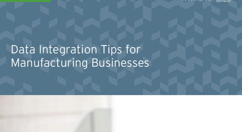 Data Integration Tips for Manufacturing Businesses