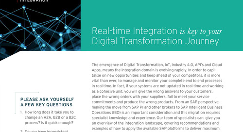 SAP Real-Time Integration