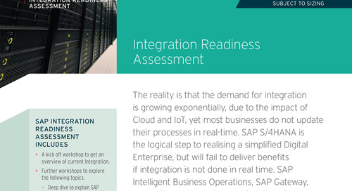 SAP Integration Readiness Assessment