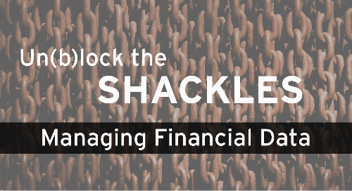 Un(b)lock the Shackles of Managing Financial Data