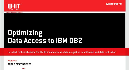 Optimizing Data Access to IBM DB2