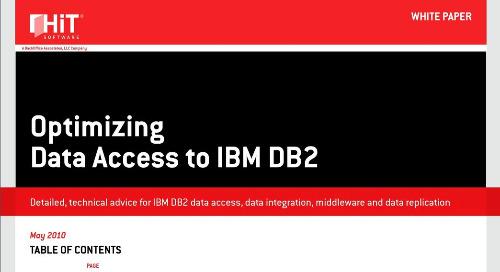 Optimizing Data Access to IBM DB2