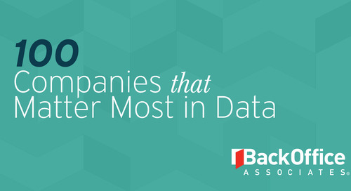 DBTA 100 2018 - The Companies That Matter Most in Data