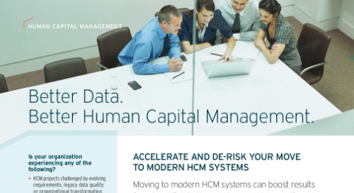 Data Migration for HCM