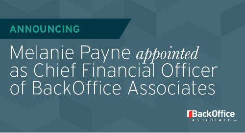 BackOffice Associates Appoints Melanie Payne as New Transformational CFO