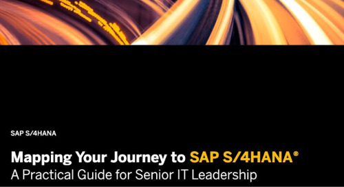 Mapping Your Journey to SAP S/4HANA