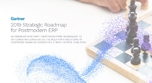 Gartner 2019 Strategic Roadmap for Postmodern ERP