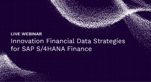 Innovation Financial Data Strategies for SAP S/4HANA Finance