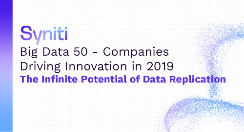 Big Data 50—Companies Driving Innovation in 2019