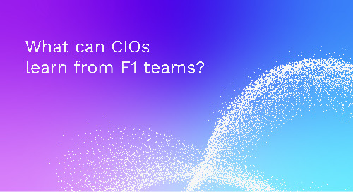 What can CIOs learn from F1 teams?
