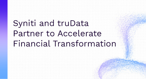 Syniti and truData Partner to Accelerate Financial Transformation