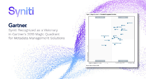 Syniti named as a Visionary in Gartner Magic Quadrant for Metadata Management Solutions