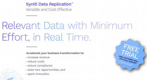 Data Replication & Change Data Capture