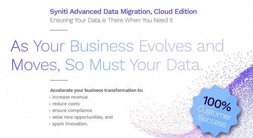 Syniti Advanced Data Migration, Cloud Edition