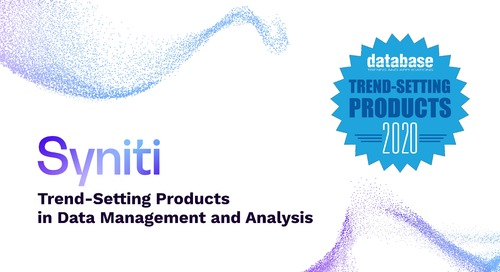 Trend-Setting Products in Data and Information Management for 2020
