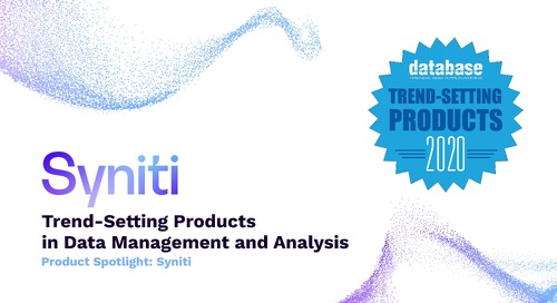 Product Spotlight: Syniti - Trend-Setting Products in Data and Information Management for 2020