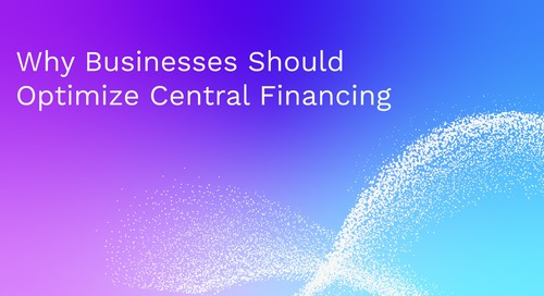 Why Businesses Should Optimize Central Financing