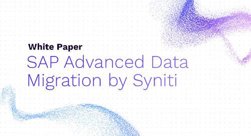 SAP Advanced Data Migration by Syniti