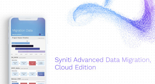 Syniti Advanced Data Migration, Cloud Edition