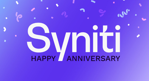 Syniti Celebrates 1st Anniversary of Brand Transformation