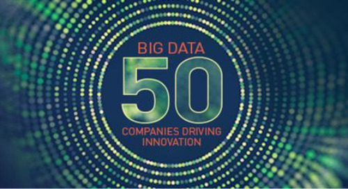 Trailblazer: Big Data 50—Companies Driving Innovation in 2020