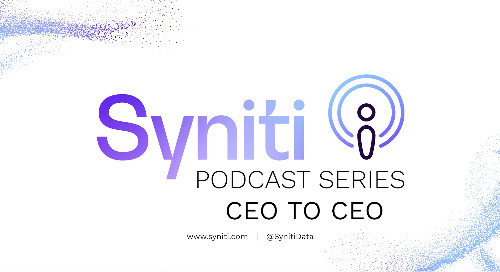 Syniti Launches Podcast Series to Address Growing Focus on Mergers, Acquisitions and Divestitures, featuring Leading CEOs