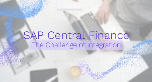 SAP Central Finance: The Challenge of Integration