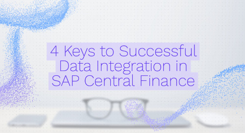 9 Steps To Consider For Your SAP Central Finance Data Integration Project