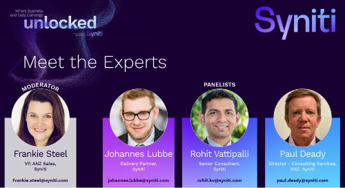 Meet the Data Experts Roundtable: APJ