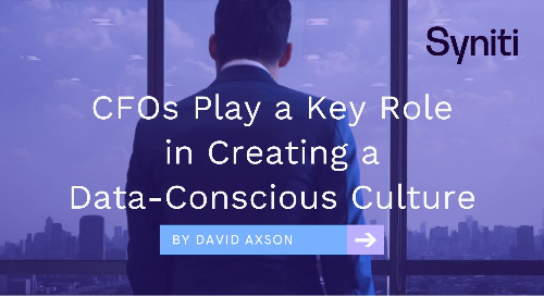 CFOs Play a Key Role in Creating A Data-Conscious Culture