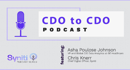 CDO to CDO Podcast: Asha Poulose Johnson - Part 1