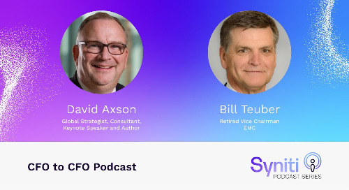CFO to CFO Podcast: Bill Teuber