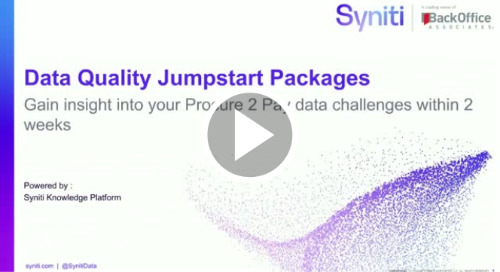 The Data Quality Jumpstart