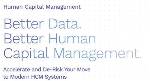 Data Migration for HCM