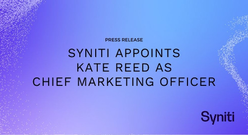 Syniti Appoints Kate Reed as Chief Marketing Officer