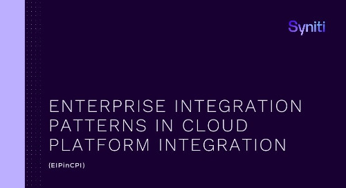 Enterprise Integration Patterns in Cloud Platform Integration (EIPinCPI)