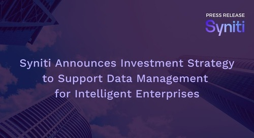 Syniti Announces Investment Strategy to Support RISE with SAP