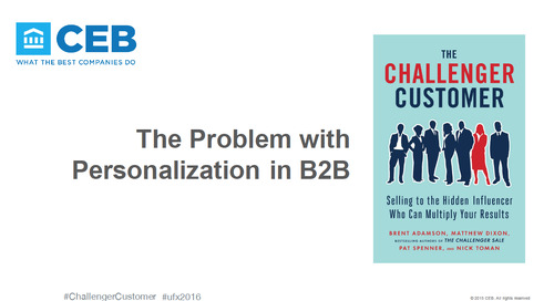 The Problem with Personalization in B2B