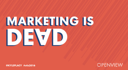 Marketing is Dead