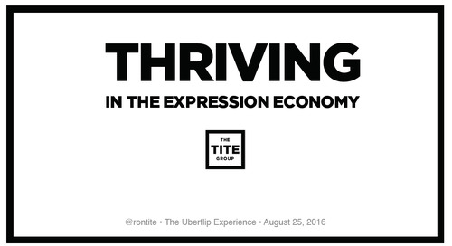 Thriving in the Expression Economy