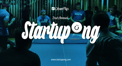 Calling All Toronto Startups: Startupong Returns for Its Second Serve!